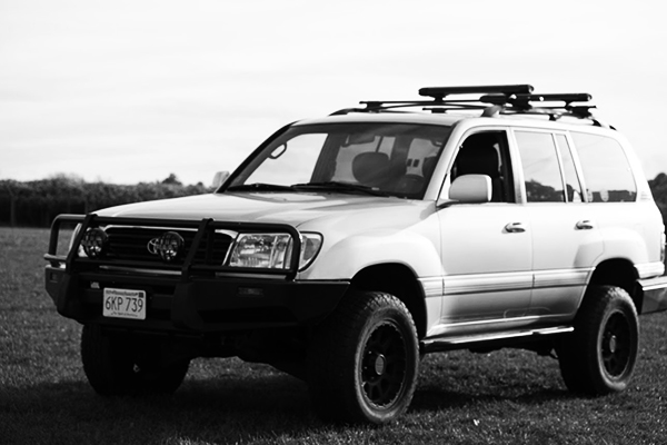 Meet Fred, the '99 Land Cruiser