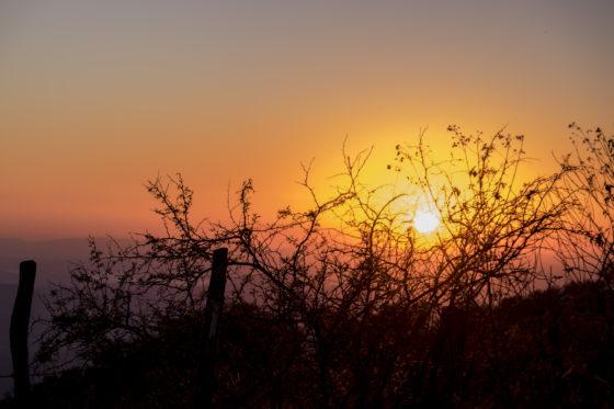 在墨西哥北部,我看见了人生中最美的日落