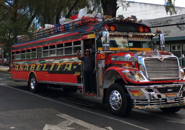 The Strange, Unexpected Journey of the American Yellow School Bus in Guatemala